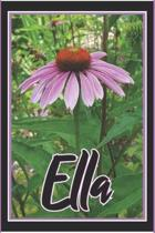 Ella: Personalized Name Journal Diary Notebook