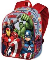 Avengers jongens rugtas - schoolrugzak A4 schoolkamp formaat Force
