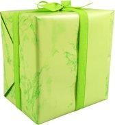 LOVLY® Cadeaupapier, 50cm, 200m, 80gr/m², Marble Candy, groen