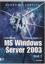 Leerboek MS Server 2003 2