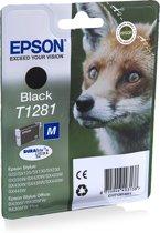 Epson T1281 - Inktcartridge / Zwart