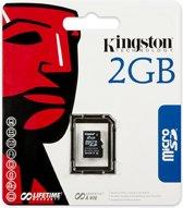 Kingston microSD geheugenkaart - 2 GB