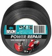 Bison Power repair tape zwart 50mtrx6cm