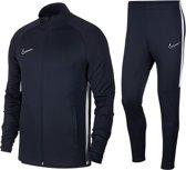Nike Academy  Trainingspak - Maat S  - Mannen - donker blauw/wit