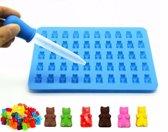 Siliconen Gummy Bear Mal – Chocoladevorm – Gelatine vorm – Snoep Maker – Ijsvormpjes – Gelei mal