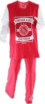 Ajax Forever pyjama - maat 92 - rood/wit