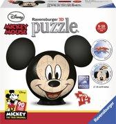 Ravensburger Disney Mickey Mouse met oren - 3D Puzzel - 72 stukjes