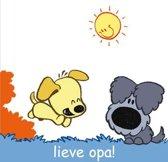 Woezel & Pip - Lieve Opa! - Wenskaart