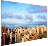 FotoCadeau.nl - Wolkenkrabbers Sao Paulo Aluminium 30x20 cm - Foto print op Aluminium (metaal wanddecoratie)