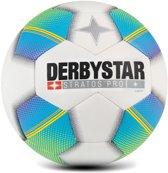 Derbystar VoetbalKinderen - wit/blauw/geel Maat 5
