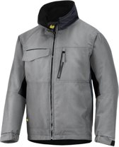 Snickers Workwear winterjack - Craftsmens - grijs/zwart- mt. L