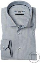 Ledûb tailored fit overhemd, grijs, maat 40