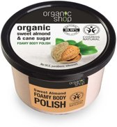 Organic Shop Foamy body polish Sweet Almond 250ml.