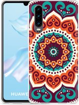 Huawei P30 Hoesje Retro Mandala