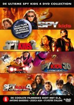 Spy Kids 1 T/M 4 Collection