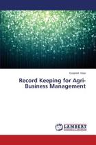 Record Keeping for Agri-Business Management