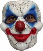 Halloween Masker Clown Lach Deluxe voorkant