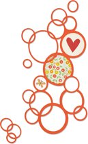 Sizzix Thinlits Die Bright Bubbles Ontworpen door Emily Atherton