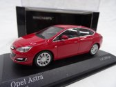Opel Astra 2012 Rood 1:43 Minichamps