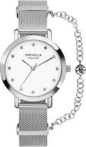 Orphelia Fashion - Horloge - Vrouwen - Zilverkleurig Ø 32 - OF714800