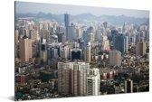 Skyline van Guiyang op een zonnige dag in Azië Aluminium 180x120 cm - Foto print op Aluminium (metaal wanddecoratie) XXL / Groot formaat!
