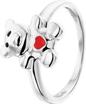 The Kids Jewelry Collection Ring Beer - Zilver