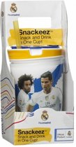 Snackeez Real Madrid Drinkbeker en snackbox in 1