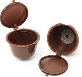 DANCHEFF Koffie Capsules - Set van 3- Hervulbare Cups - Koffiecups - Koffiecapsules - Duurzaam - Hervulbaar