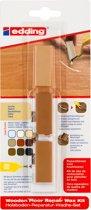 Edding 8902 houten vloeren-reparatiewas-set, beukenhout, per stuk in blisterverpakking
