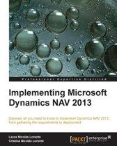 Implementing Microsoft Dynamics NAV 2013