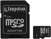 Kingston Micro SD / microSDHC kaart 8 GB class 4