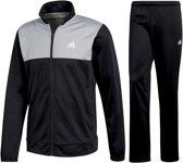 adidas Back 2 Basics  Trainingspak - Maat S  - Mannen - zwart/grijs