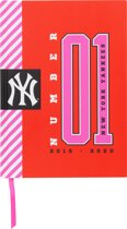 New York Yankees schoolagenda 2019/2020 - A5 - Rood