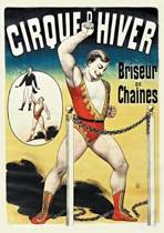 Boek cover Carnet Lign Affiche Cirque dHiver van Sans Auteur
