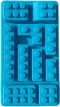 chocoladevorm Legoblokje siliconen vorm ijsblokjes