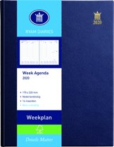 Ryam Bureau Agenda 2019 -  Weekplan Blauw