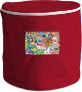 Achoka Persoonlijke Opbergbox 50 Liter Rood
