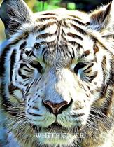 2020 Planner - Daily and Monthly Planners: The Perfect Gift - 2020 Planner for White Tiger Lovers. Men, Women and Kids Love These Diaries