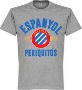Espanyol Established T-Shirt - Grijs - XXXL