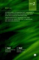 Overname/overdracht van kmo's; Transmission/reprise de PME