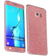 Colorfone PREMIUM Skin 360 / Full Body / Sticker / Cover voor de Samsung S6 Edge Roze
