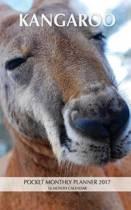 Kangaroo Pocket Monthly Planner 2017