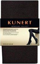Kunert Sensual Velvet winterpanty 115 denier maat 44-46 kleur Zwart