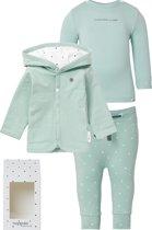 Noppies baby gift set - Grey Mint - Maat 56