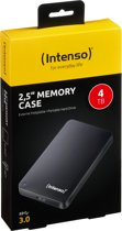 Intenso 6.3cm (2,5) 4TB 3.0 MemoryCase zwart