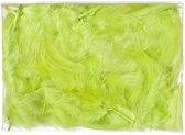 5 gram groene decoratie dons veren