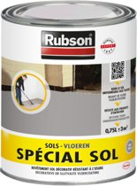 Rubson Spécial  Grijs Vloer coating binnen en buiten - 0.75 Liter - Grijs
