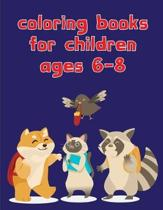 coloring books for children ages 6-8: Christmas Coloring Pages for Boys, Girls, Toddlers Fun Early Learning