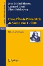 Ecole d'Ete de Probabilites de Saint-Flour X, 1980