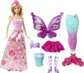 Barbie Fairytale Verkleed Cadeauset - Barbiepop